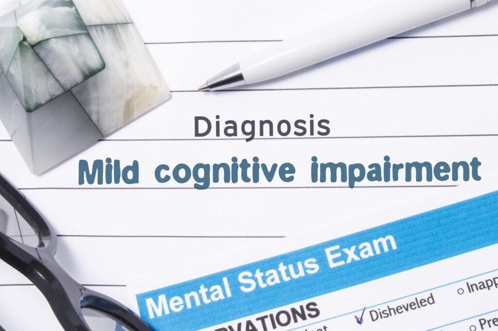 Diagnosis of Mild Cognitive Impairment